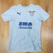 Lazio Roma 2006-07 home shirt Puma soccer jersey Rocchi 18 size XS (1)