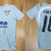 Lazio Roma 2006-07 home shirt Puma soccer jersey Rocchi 18 size XS