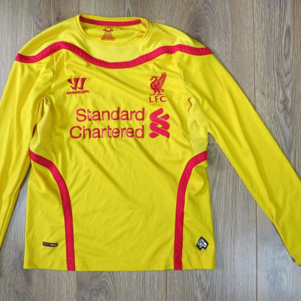 63542e55262 Liverpool 2014-15 away shirt Warrior soccer jersey size Boys M (134cm) (