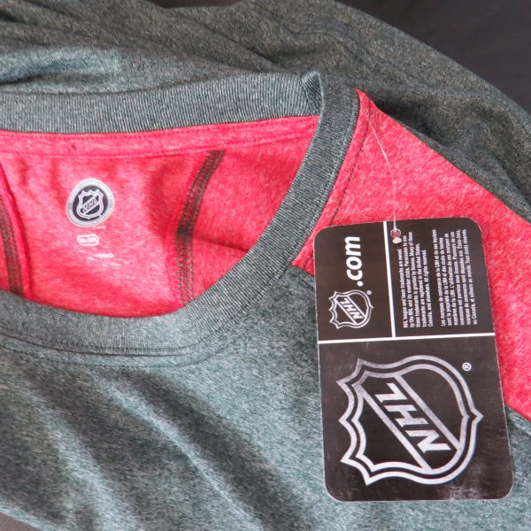 Minesota Wild NHL green grey sweater official merchandise size XXL BNWT (3)