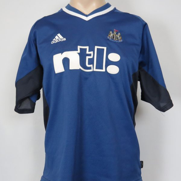 Newcastle United 2001-02 away shirt adidas jersey 3 size M (2)