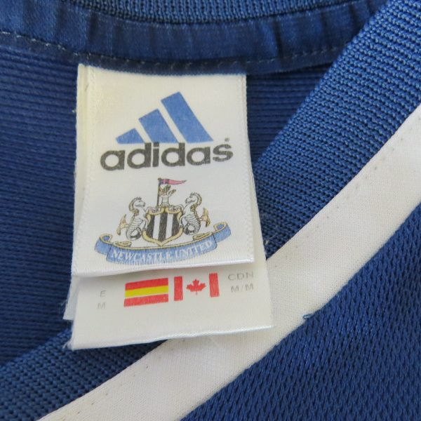 Newcastle United 2001-02 away shirt adidas jersey 3 size M (4)