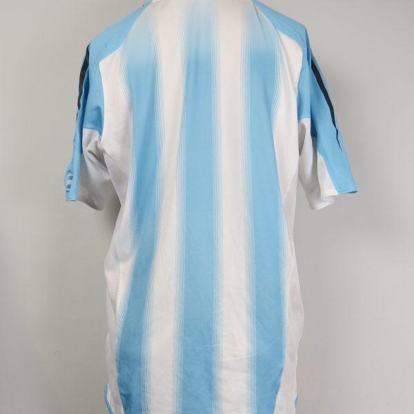 Argentina 2004-05 home shirt adidas soccer jersey size M (2)