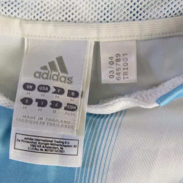 Argentina 2004-05 home shirt adidas soccer jersey size M (3)