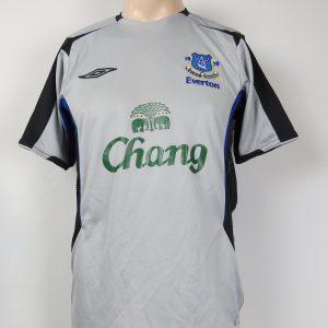 Everton 2005-06 away shirt Umbro soccer jersey size S 9bfe88374