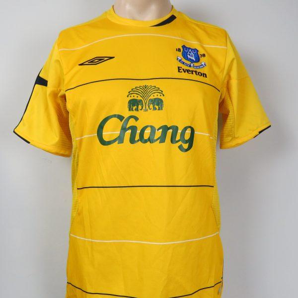quality design b8adb 5ef83 Everton 2005-06 third shirt Umbro soccer jersey size S