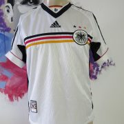 Germany 1998-00 home shirt adidas soccer jersey size 176cm 16Y World Cup 98 (1)
