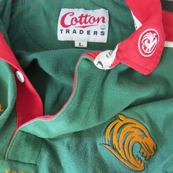 Leicester Tigers 2001-03 shirt Cotton Traders rugby jersey size L (3)