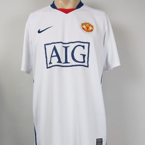 8b73aeb7d7e Manchester United 2008-10 away shirt Nike soccer jersey size L (1)