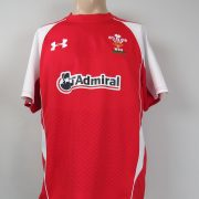 Wales Rugby Union 2010-11 home shirt Under Armour jersey size M (1)