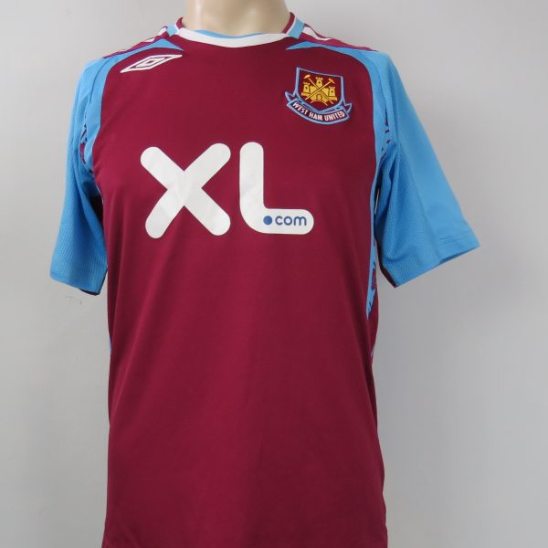 West Ham United 2007-08 home shirt Umbro jersey size S (1)