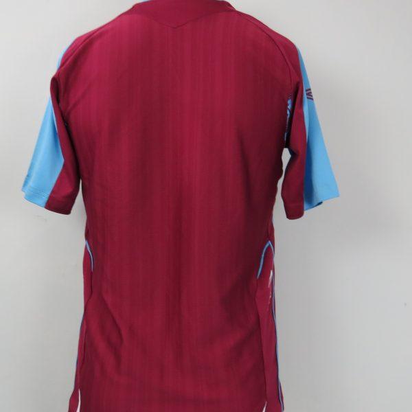 West Ham United 2007-08 home shirt Umbro jersey size S (3)