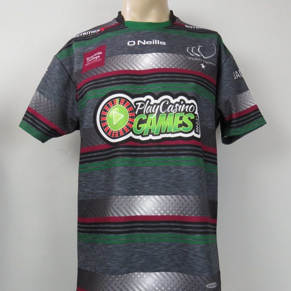 Widnes Vikings 2017 away shirt O Neills rugby jersey size L ... 139355c81