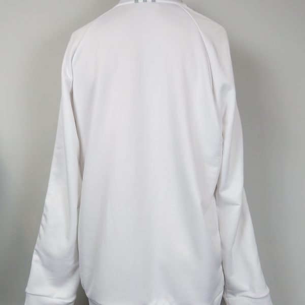 adidas Mens ClimaLite 14 Zip Contrast Pullover 2014 white size XL (4)