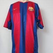 Barcelona 2002-03 basic home shirt Nike jersey size L (1)