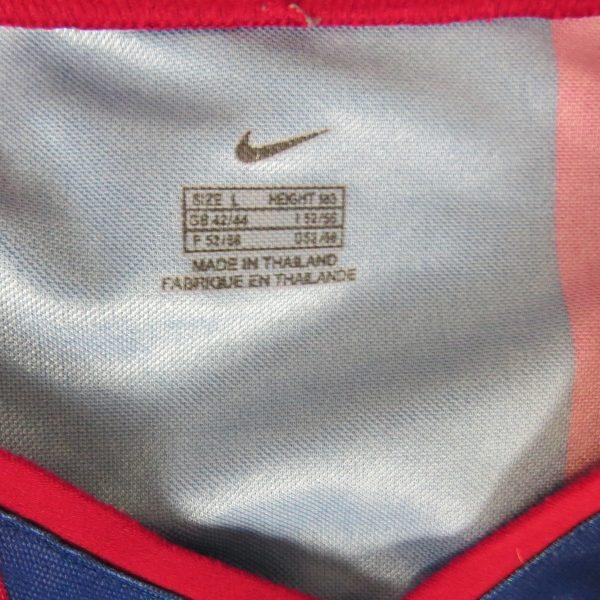 Barcelona 2002-03 basic home shirt Nike jersey size L (2)