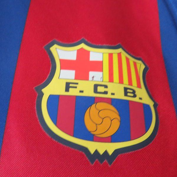 Barcelona 2002-03 basic home shirt Nike jersey size L (5)