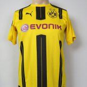 Borussia Dortmund 2016-17 home shirt Puma trikot Weigl 33 176cm 15-16Y (1)