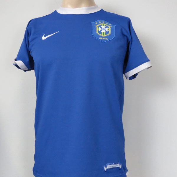 Brazil 2006-07 away shirt NIKE Brasil soccer jersey size S (1)