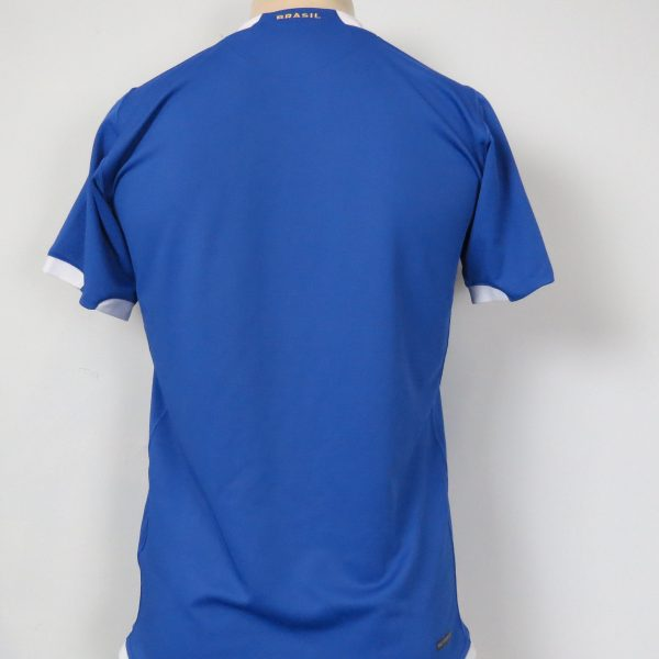 Brazil 2006-07 away shirt NIKE Brasil soccer jersey size S (2)