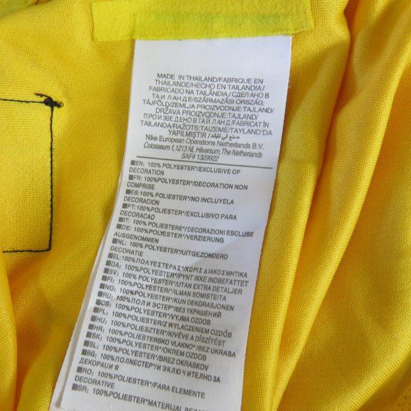 Brazil 2014-15 Nike Authentic home shirt soccer jersey Neymar Jr 10 size S (3)