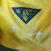 Brazil 2014-15 Nike Authentic home shirt soccer jersey Neymar Jr 10 size S (4)