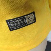 Brazil 2014-15 Nike Authentic home shirt soccer jersey Neymar Jr 10 size S (5)