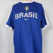 Brazil World Cup 2002 training shirt Nike soccer jersey size M (1)