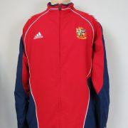 British & Irish Lions Rugby training jacket New Zealand 2005 size L 4244 (1)