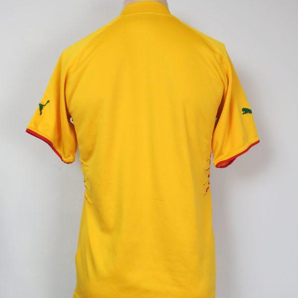Cameroon 2004-06 away shirt Puma soccer jersey size M (4)