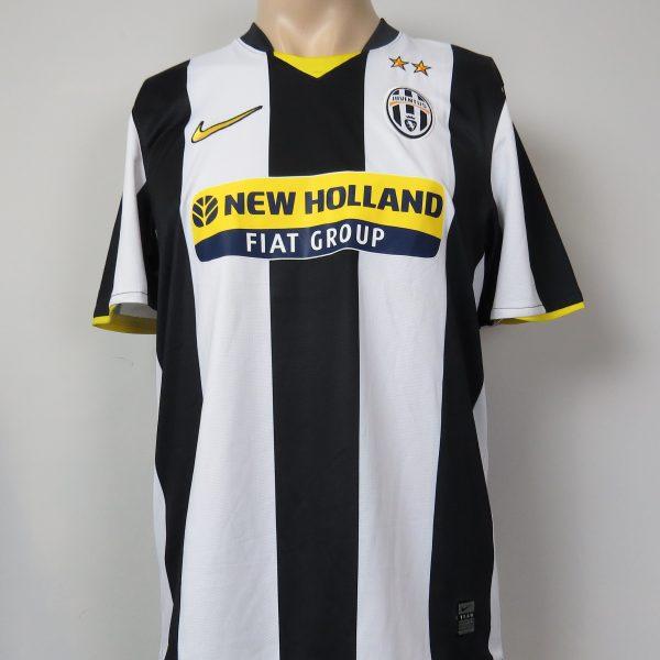 Juventus 2008-09 home shirt Nike soccer jersey Amauri 8 size M (1)