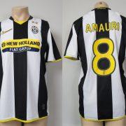 Juventus 2008-09 home shirt Nike soccer jersey Amauri 8 size M
