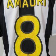 Juventus 2008-09 home shirt Nike soccer jersey Amauri 8 size M (2)