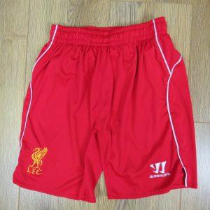 0084e15c4 Liverpool 2014-15 home shorts Warrior size Boys L 146cm