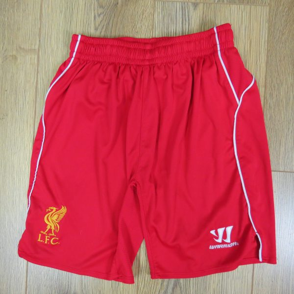 Liverpool 2014-15 home shorts New Balance size Boys L 146cm (1)