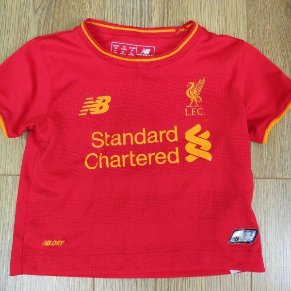 25d380d47 Liverpool 2016-17 home shirt New Balance size Baby 12-18M 80cm ...