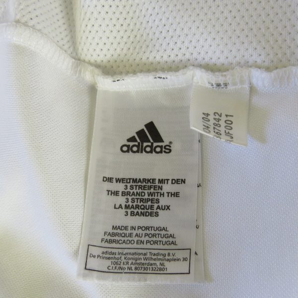 Real Madrid 2004-05 home shirt adidas soccer jersey size 2XL (3)