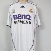 Real Madrid 2006-07 LFP home shirt adidas soccer jersey size L (1)