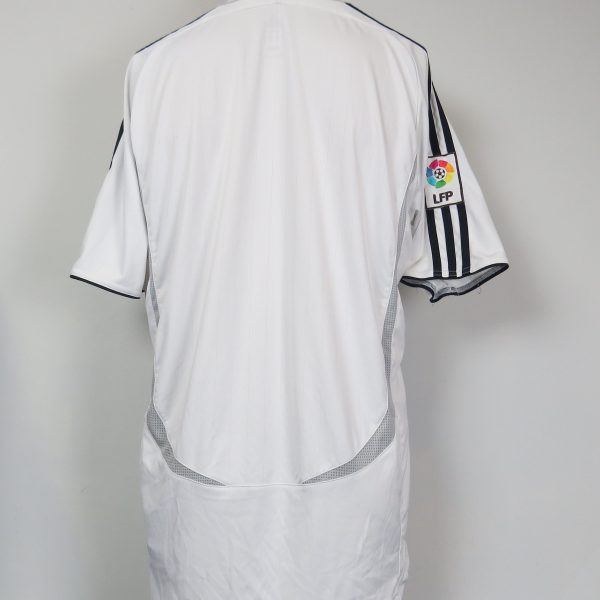 Real Madrid 2006-07 LFP home shirt adidas soccer jersey size L (4)