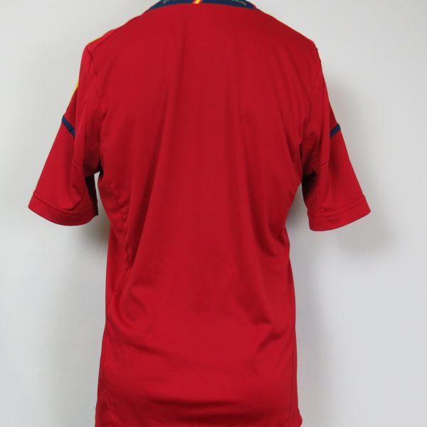 Spain 2011-12 home shirt adidas soccer jersey camiseta size L EURO2012 (2)