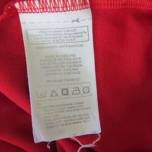 Spain 2011-12 home shirt adidas soccer jersey camiseta size L EURO2012 (4)