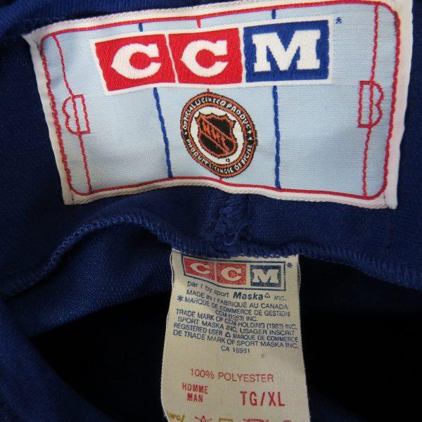 Toronto Maple Leafs NHL jersey shirt McMahon #16 CCM mt XL (3)