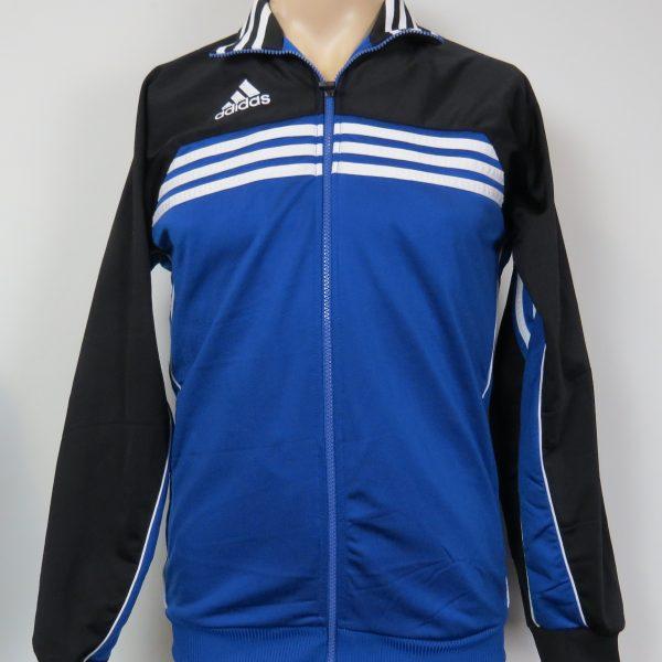 Vintage Adidas 1990ies Blue tracksuit jacket size S 3436 (1)
