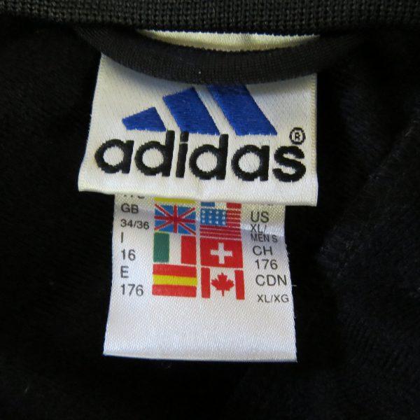 Vintage Adidas 1990ies Blue tracksuit jacket size S 3436 (3)
