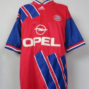 new concept 7af9a c7223 Vintage Bayern Munchen 1993-95 home shirt adidas soccer jersey size L