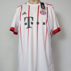 promo code 68bdf bc1d9 Bayern Munich 2017-18 away shirt adidas soccer jersey size L  BNWT