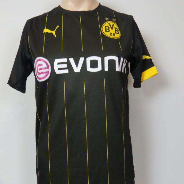 Borussia Dortmund 2014-16 away shirt Puma trikot Aubameyang 17 S (1)