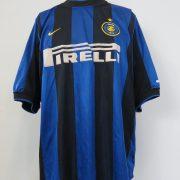 Inter Milan 2000-01 home shirt Nike soccer jersey size XL (1)
