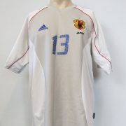 Japan 2002-04 away shirt adidas size L Yanagisawa 13 (World Cup 2002) (2)