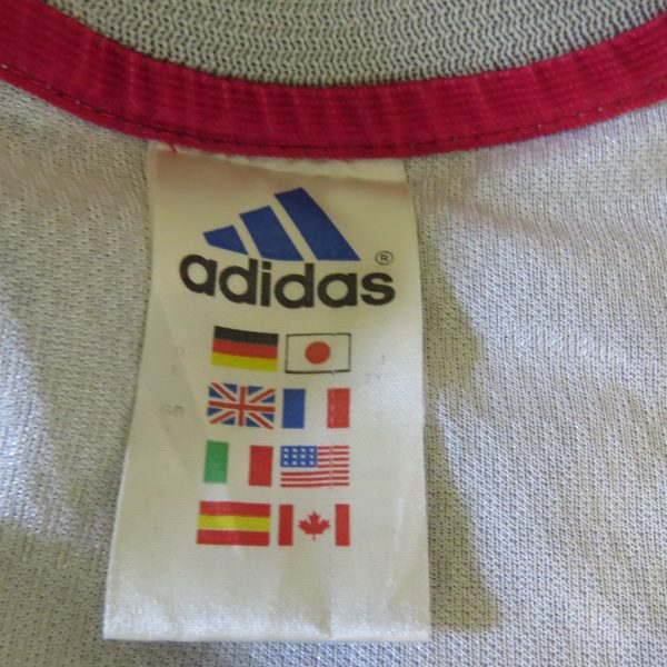 Japan 2002-04 away shirt adidas size L Yanagisawa 13 (World Cup 2002) (4)